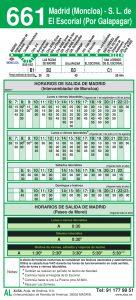 horario-ida-661-madrid-las-rozas-el-escorial-autobuses-interurbanos