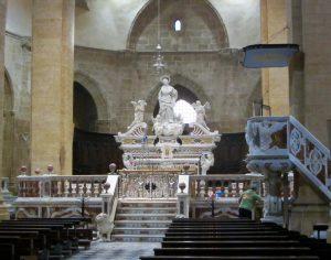 Interior Cattedrale di Santa Maria Alghero