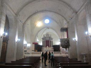 Interior iglesia Castersardo
