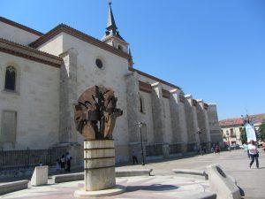 Plaza de los Santos Niños en Alcalá de Henares