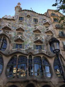 Paseo de Gracia en Barcelona