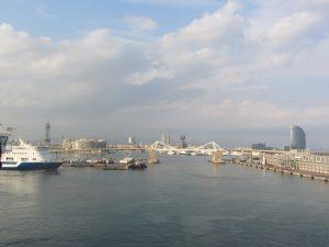 Paseo marítimo de Barcelona