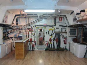 Submarino interior de Torrevieja