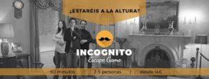 Información Escape Room Incógnito