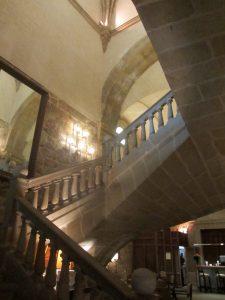 Escalera del Parador de Plasencia