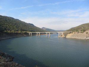 Puente de la ruta roja Monfragüe