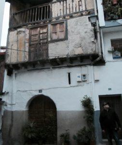 Casas típicas de Garganta la olla