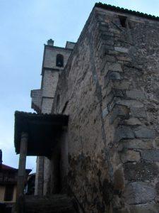 Iglesia de San Lorenzo de Garganta la olla