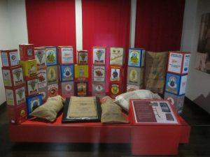 cajas pimentón, del Museo del Pimentón de la Vera