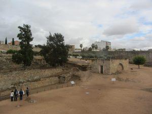 Alcazaba Árabe en Mérida