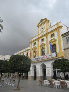Plaza España de Mérida