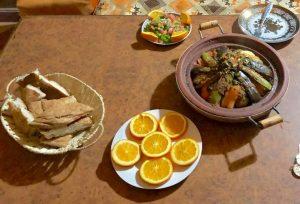 Cena tajín en el desierto