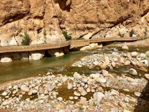 río garganta de tondra