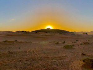 Amanecer en el desierto de Erg Chebbi