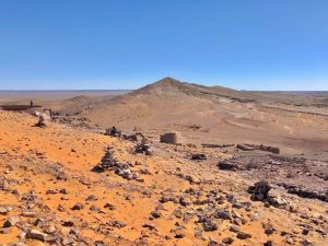 Vistas de las minas de Menfis
