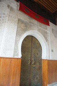 Puerta de una madrasa