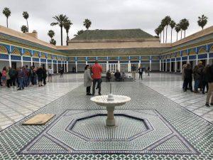 Patio del palacio bahia