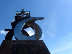 Monte do gozo escultura