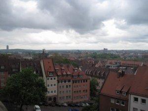 Vistas de Núremberg desde el castillo