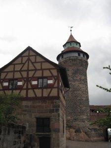 Torre castillo de Núremberg