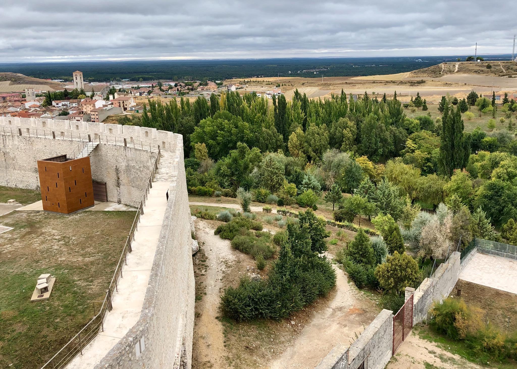 Vistas castillo de Cuéllar