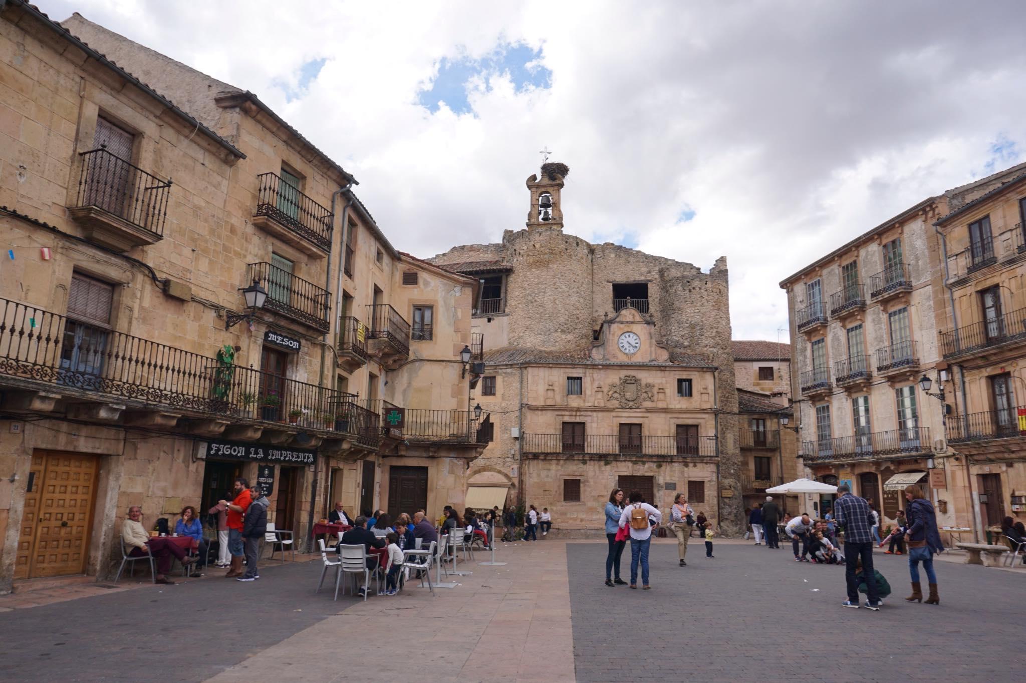 Plaza de España de Sepúlveda