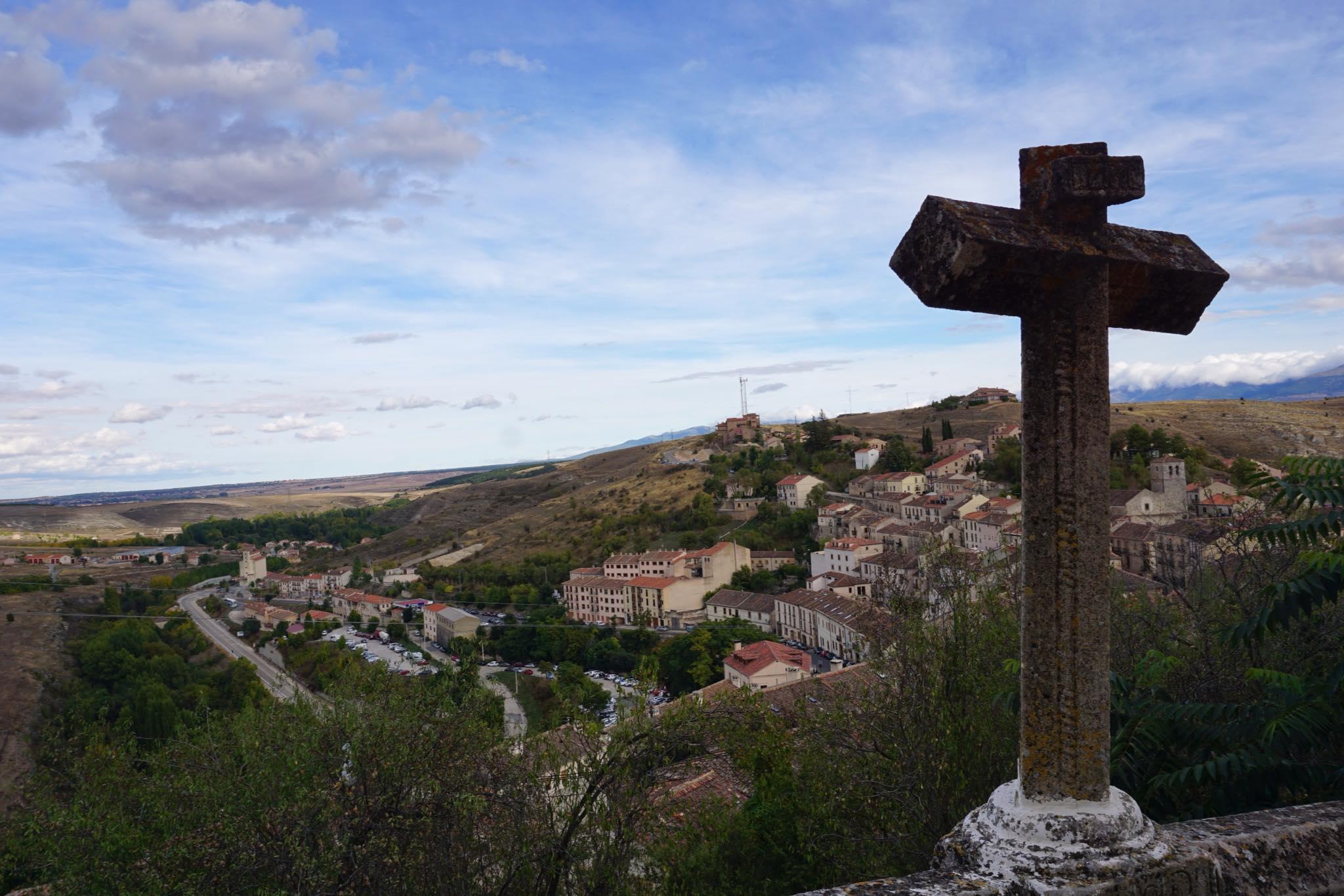 Vistas de la iglesia del Salvador