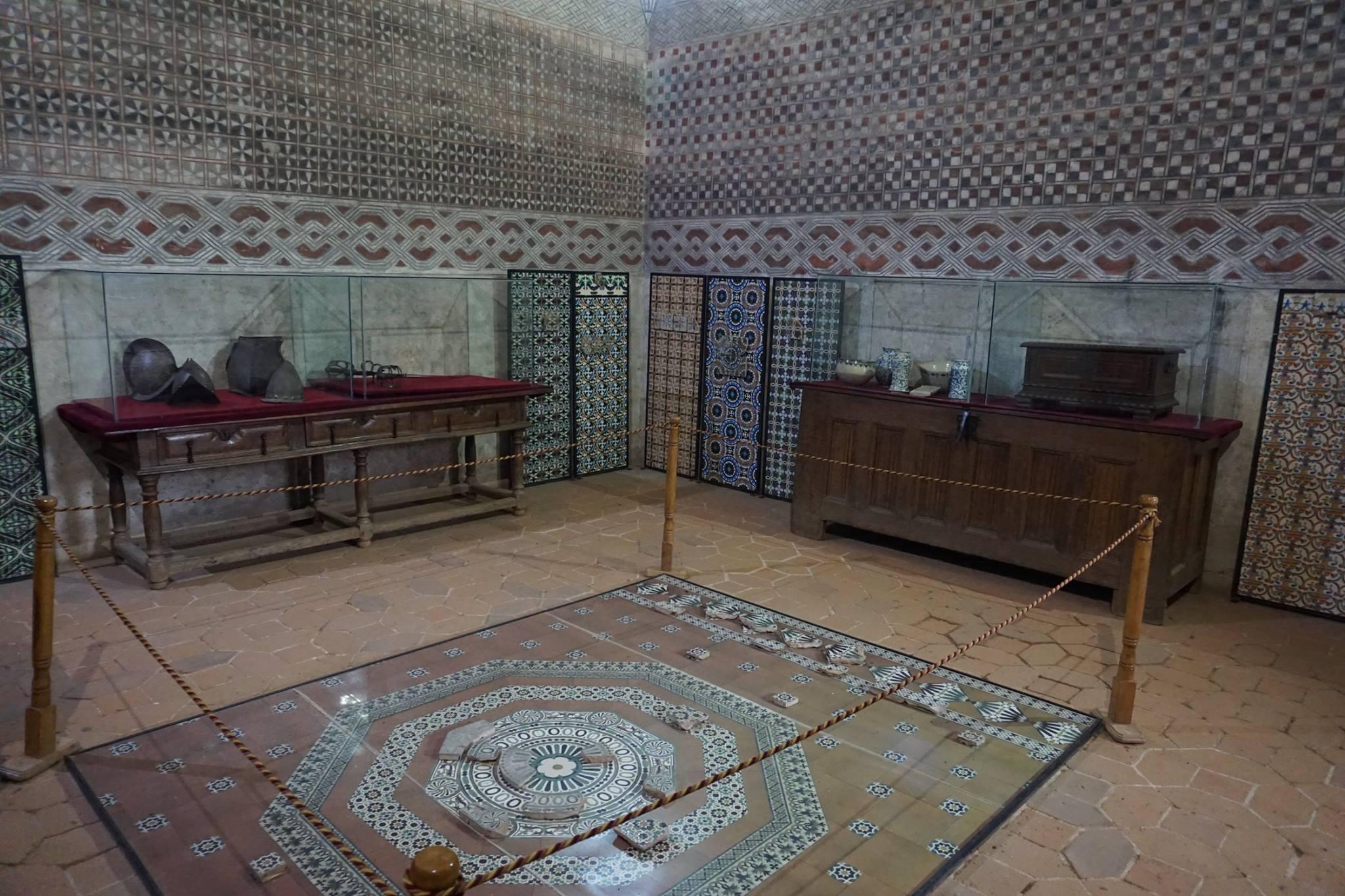 Sala de Armas del castillo de Coca