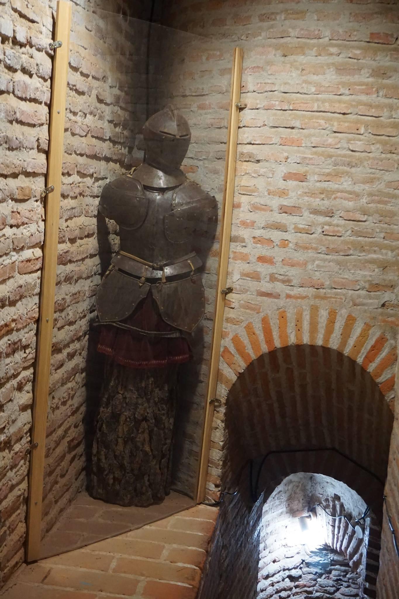 Galería superior del castillo de Coca