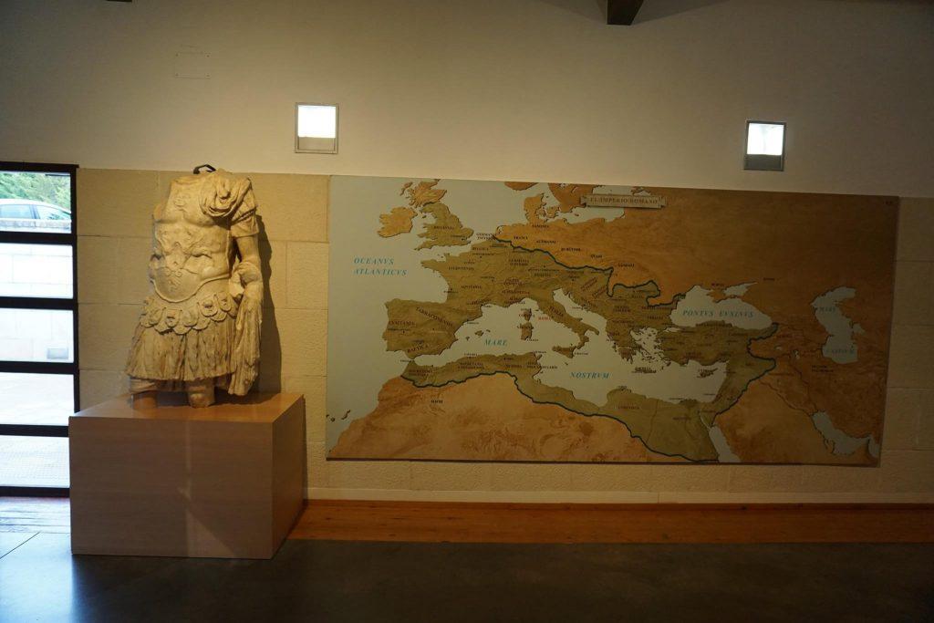 Mapa de Segóbriga
