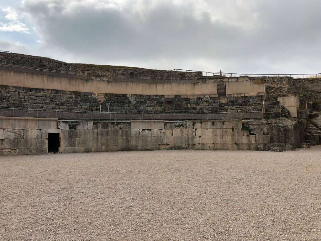 Arena del anfiteatro
