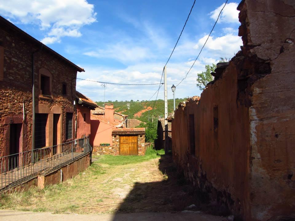 Pueblos rojos de Guadalajara