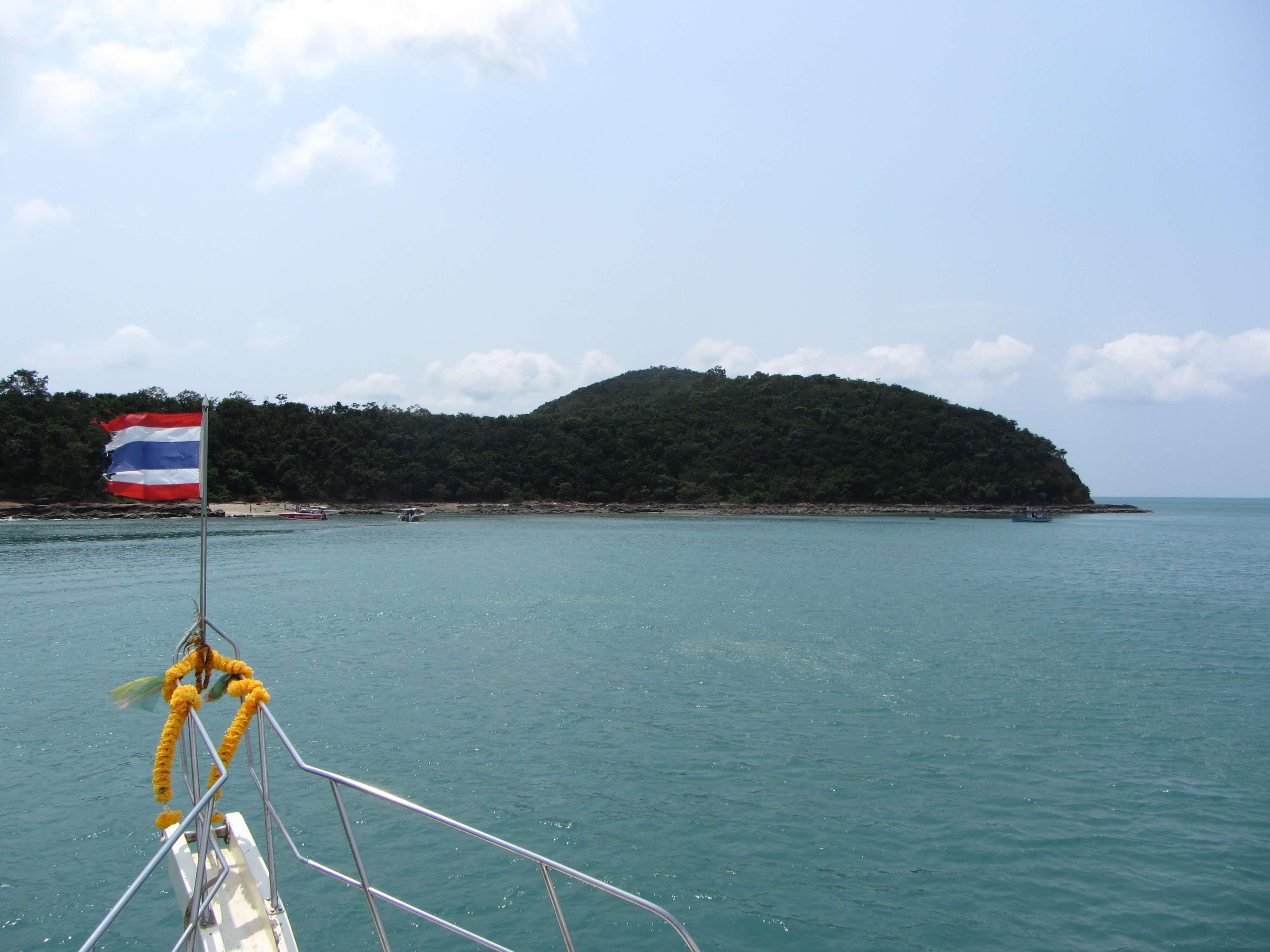 Barco para tailandia
