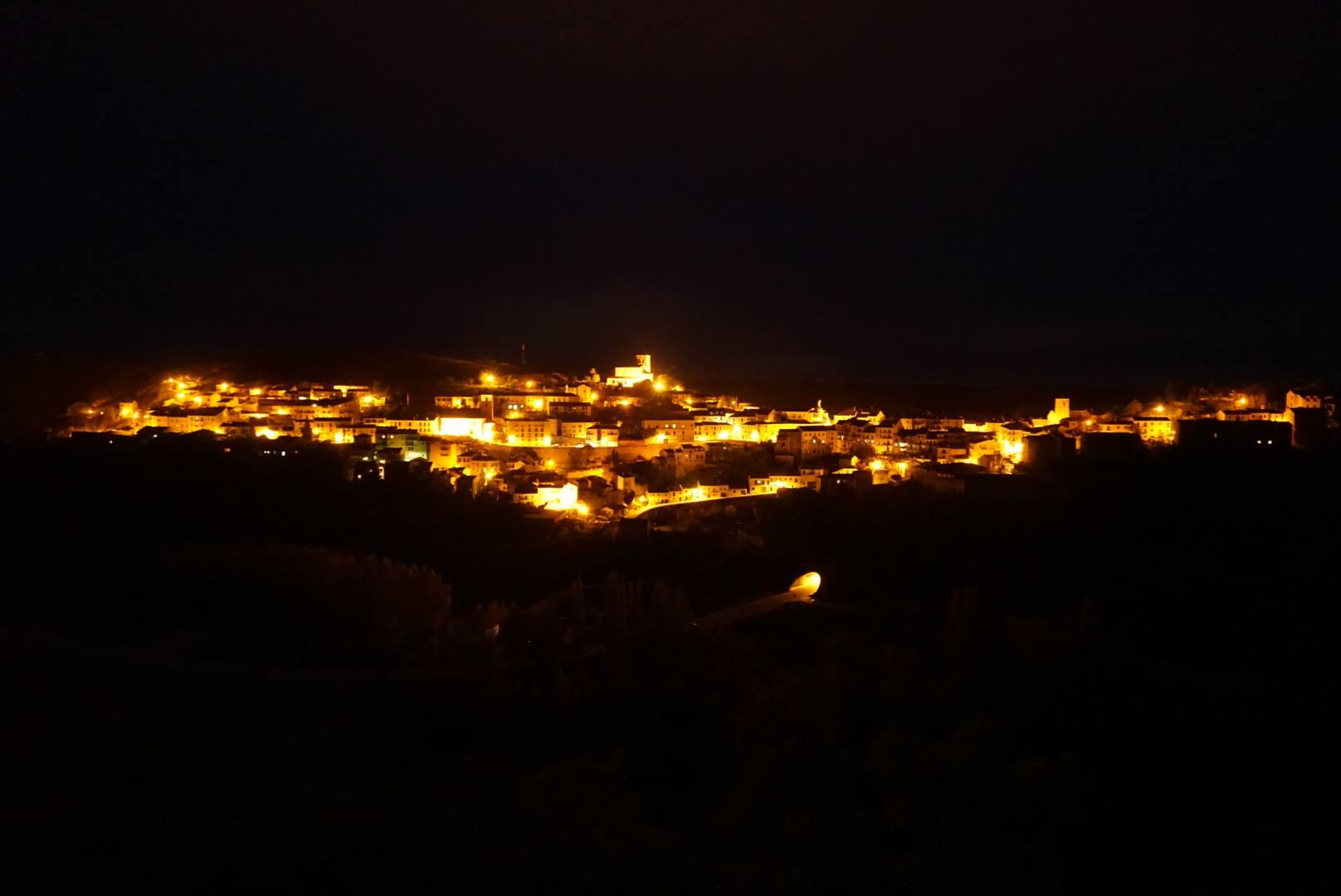 Sepúlveda de noche
